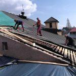 Obecný úrad Korňa - odstánenie havarijného stavu strechy