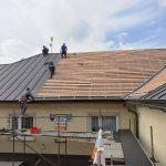 Obecný úrad Korňa - odstánenie havarijného stavu strechy9