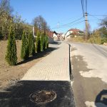 Rekonštrukcia chodníkov Turzovka10