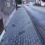 Rekonštrukcia chodníkov Turzovka4