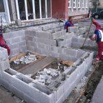 Rekonštrukcia schodiska poliklinika Turzovka1