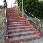 ZŠ Turzovka - stavebné úpravy vonkajšieho schodiska ku ZŠ Turzovka4